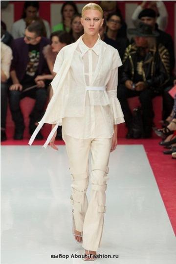 Белые блузки 2013 фото - 004