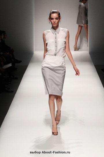 Белые блузки 2013 фото - 005