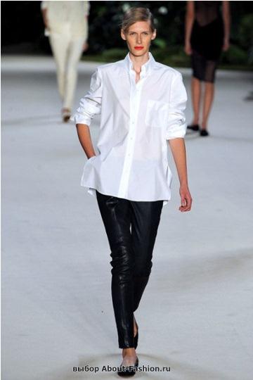 Белые блузки 2013 фото - 007