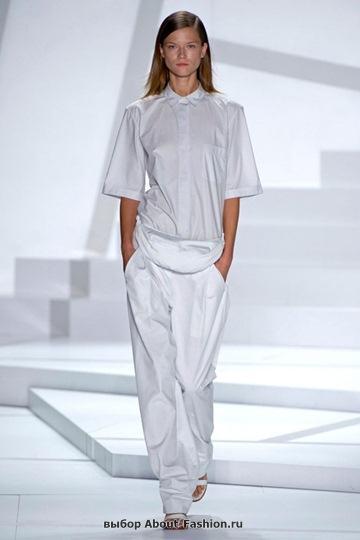 Белые блузки 2013 фото - 011