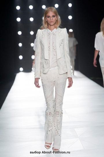 Белые блузки 2013 фото - 015