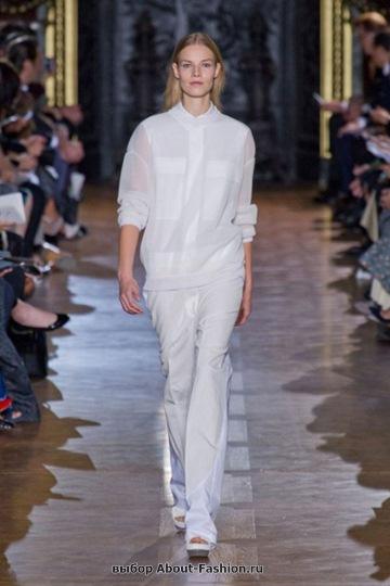 Белые блузки 2013 фото - 021
