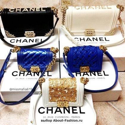 Chanel boy -модная сумка сезона -001