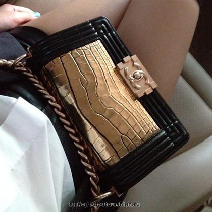 Chanel boy -модная сумка сезона -002