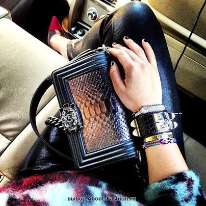 Chanel boy -модная сумка сезона -003