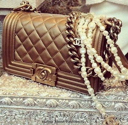 Chanel boy -модная сумка сезона -005