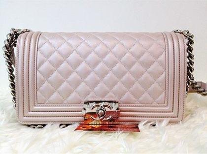 Chanel boy -модная сумка сезона -006
