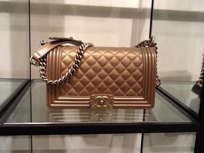 Chanel boy -модная сумка сезона -007