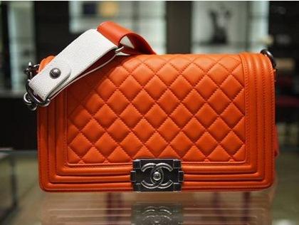 Chanel boy -модная сумка сезона -008