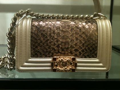 Chanel boy -модная сумка сезона -009