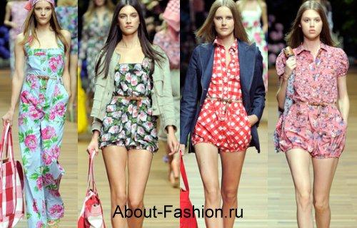Модные женские комбинезоны весна лето