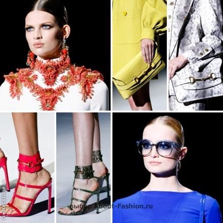 Модные аксессуары от Gucci -006