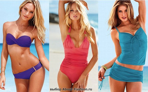 Модные купальники бикини фото - 001