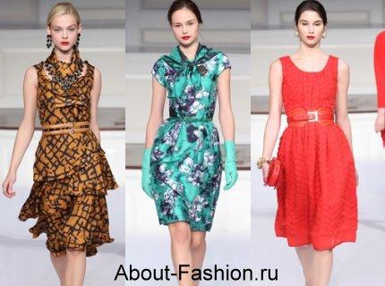 Новая Мода 2012.br /Модные летние платья 2011 br /на фото.