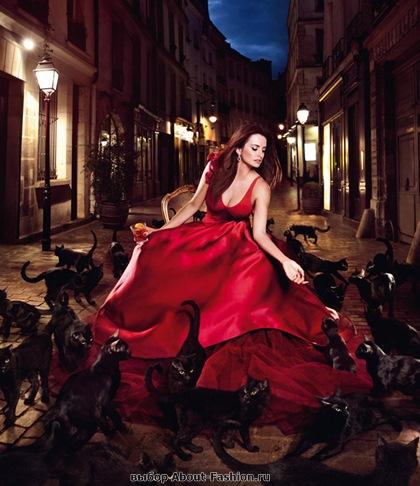 Пенелопа Круз в красном платье 2013 - 001