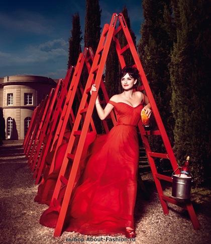 Пенелопа Круз в красном платье 2013 - 004