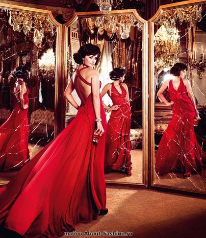 Пенелопа Круз в красном платье 2013 - 007