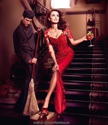 Пенелопа Круз в красном платье 2013 - 008