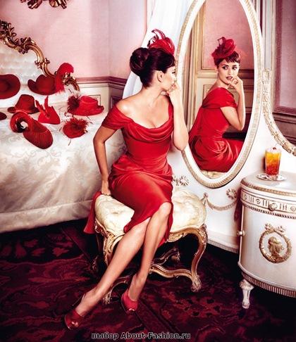 Пенелопа Круз в красном платье 2013 - 009