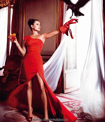 Пенелопа Круз в красном платье 2013 - 010