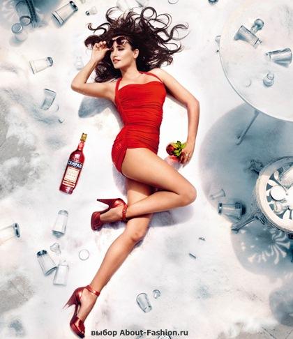 Пенелопа Круз в красном платье 2013 - 011