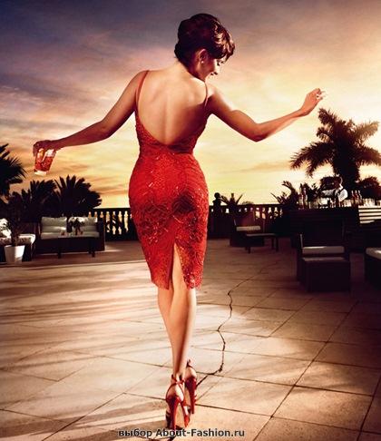Пенелопа Круз в красном платье 2013 - 012