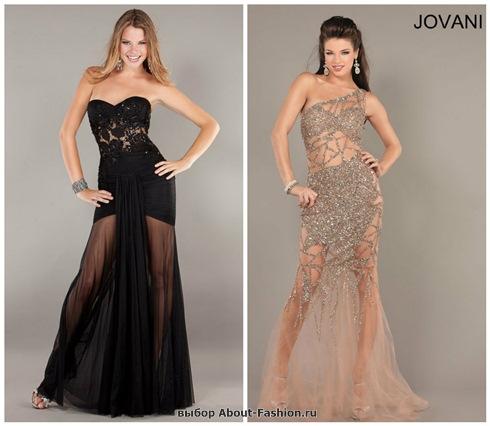 Платья на выпускной 2013 - 001