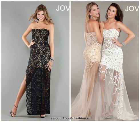 Платья на выпускной 2013 - 012