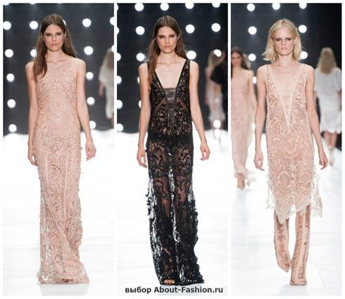 Платья на выпускной 2013 - 014