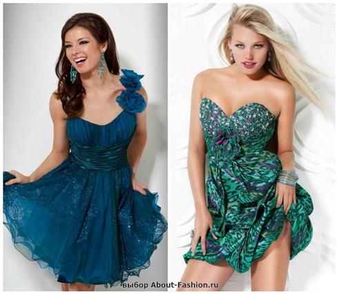 Платья на выпускной 2013 - 047