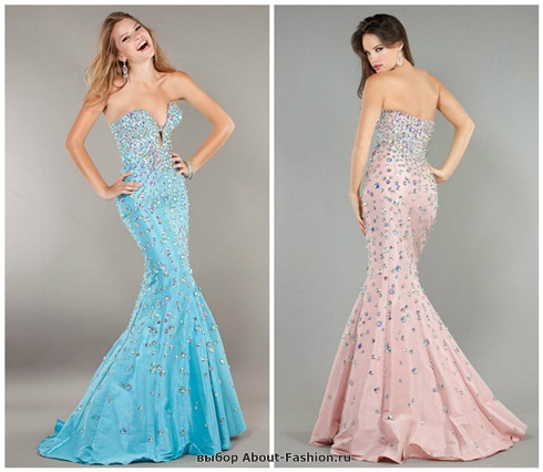 Платья на выпускной 2013 - 051