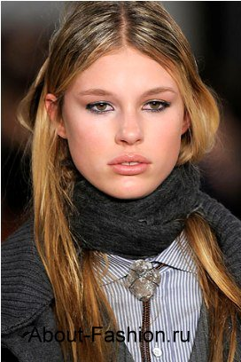 зимний шарф крючком - Выкройки одежды для детей и взрослых.