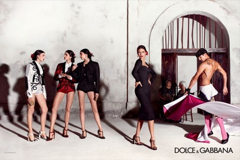 Рекламная кампания Dolce Gabbana 2015 - 001
