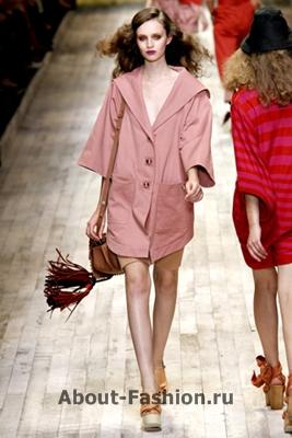Sonia Rykiel-6-005-модное пальто весна-лето 2011