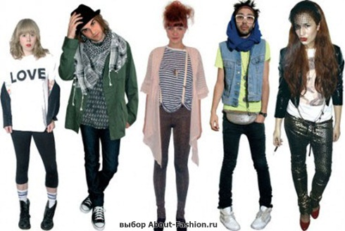 Стиль, одежда хипстера - 006