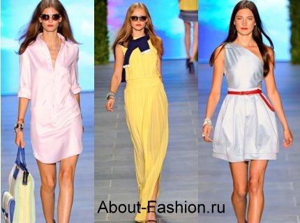 Самые модные летние платья 2011 - фото.  Какие платья будут.