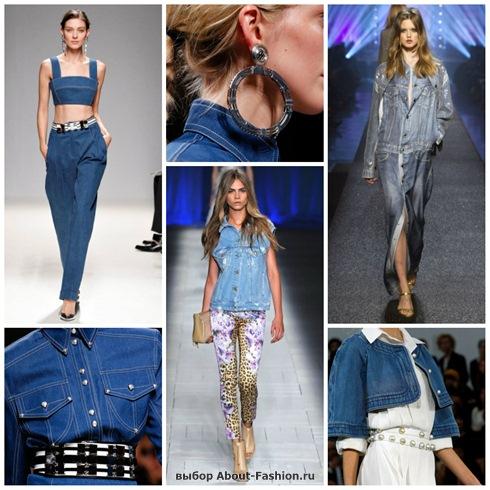 джинсовая одежда 2013!