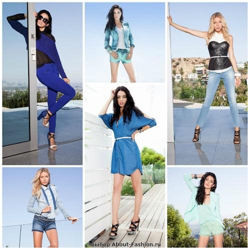 джинсы и деним от Guess 2013