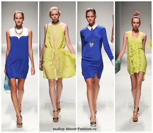 короткие летние платья 2013-1