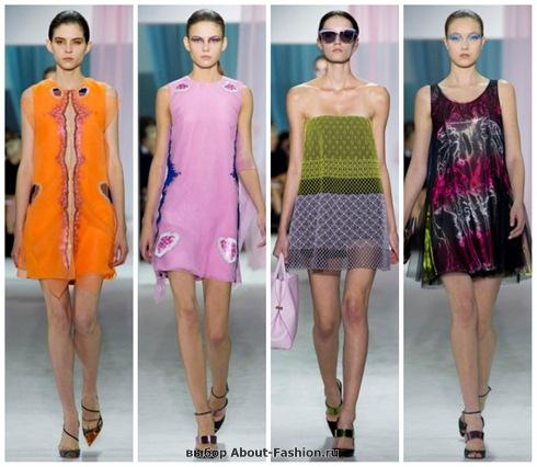 короткие летние платья 2013-10