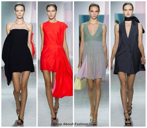 короткие летние платья 2013-11