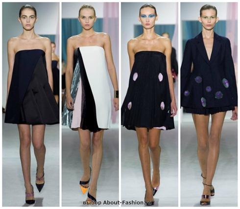 короткие летние платья 2013-12