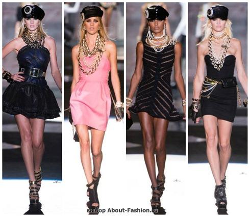короткие летние платья 2013-15