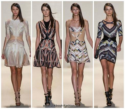 короткие летние платья 2013-21