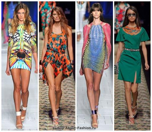короткие летние платья 2013-24