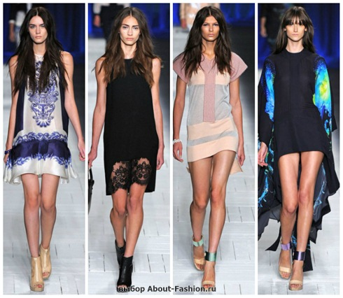 короткие летние платья 2013-25