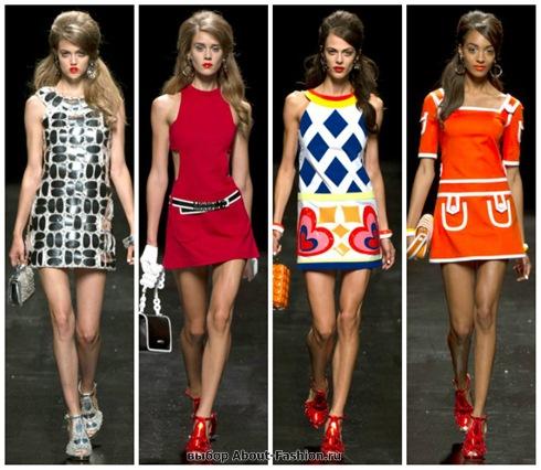 короткие летние платья 2013-26