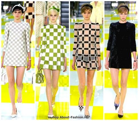 короткие летние платья 2013-27