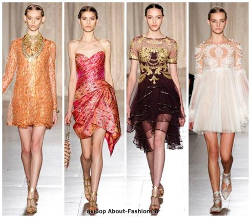 короткие летние платья 2013-28