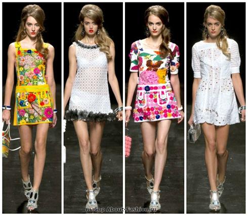 короткие летние платья 2013-29